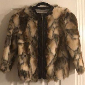Twelfth St. by Cynthia Vincent Multi Fur Jacket